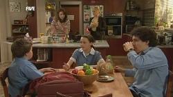 Callum Jones, Kate Ramsay, Sophie Ramsay, Donna Freedman, Harry Ramsay in Neighbours Episode 5849