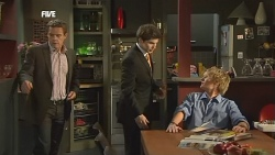 Paul Robinson, Declan Napier, Andrew Robinson in Neighbours Episode 5849
