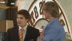 Declan Napier, Andrew Robinson in Neighbours Episode 5849