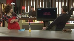 Rebecca Napier, Lucas Fitzgerald, Paul Robinson in Neighbours Episode 5852