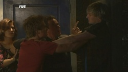 Rebecca Napier, Ringo Brown, Paul Robinson, Andrew Robinson in Neighbours Episode 5853