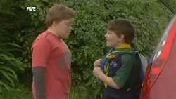 Callum Jones, Ben Kirk in Neighbours Episode 5853