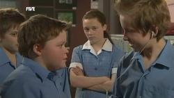 Callum Jones, Sophie Ramsay, Dean Harman in Neighbours Episode 5854