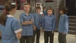 Sophie Ramsay, Dean Harman, Callum Jones in Neighbours Episode 5854
