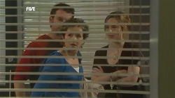 Lucas Fitzgerald, Susan Kennedy, Sonya Mitchell in Neighbours Episode 5855