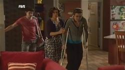 Declan Napier, Rebecca Napier, Kate Ramsay in Neighbours Episode 5856