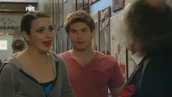 Kate Ramsay, Declan Napier, Terry Kearney in Neighbours Episode 5856