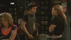 Zeke Kinski, Melissa Evans in Neighbours Episode 5858