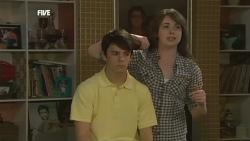 Zeke Kinski, Kate Ramsay in Neighbours Episode 5858