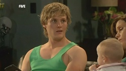 Andrew Robinson, India Napier, Rebecca Napier in Neighbours Episode 5859