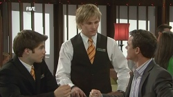 Declan Napier, Andrew Robinson, Paul Robinson in Neighbours Episode 5859
