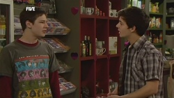 Adam Miller, Zeke Kinski in Neighbours Episode 5859