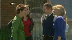 Susan Kennedy, Libby Kennedy, Toadie Rebecchi, Steph Scully in Neighbours Episode 5862