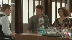 Toadie Rebecchi, Lucas Fitzgerald, Rebecca Napier in Neighbours Episode 5862