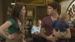 Kate Ramsay, Declan Napier, India Napier in Neighbours Episode 5863