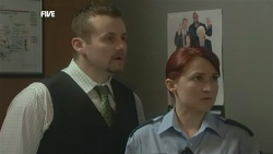 Toadie Rebecchi, Constable Simone Page in Neighbours Episode 5863
