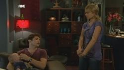 Declan Napier, India Napier, Donna Freedman in Neighbours Episode 5863