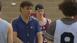 Tim Ford, Scott 'Griffo' Griffin, Harry Ramsay in Neighbours Episode 5864