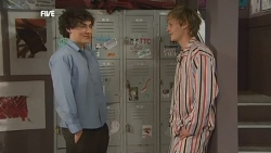 Harry Ramsay, Andrew Robinson in Neighbours Episode 5864