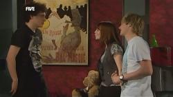 Harry Ramsay, Summer Hoyland, Andrew Robinson in Neighbours Episode 5864