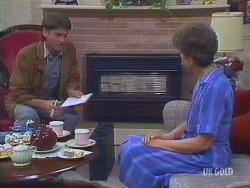 Derek Morris, Nell Mangel in Neighbours Episode 0433
