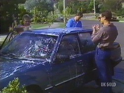 Daphne Clarke, Des Clarke, Paul Robinson in Neighbours Episode 0433