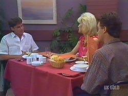 Derek Morris, Rosemary Daniels, Paul Robinson in Neighbours Episode 0433