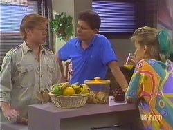 Clive Gibbons, Des Clarke, Daphne Clarke in Neighbours Episode 0433