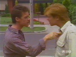 Paul Robinson, Clive Gibbons in Neighbours Episode 0434