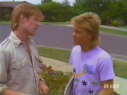 Clive Gibbons, Scott Robinson in Neighbours Episode 0434