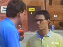 Des Clarke, Larry Spencer in Neighbours Episode 0434