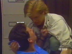 Des Clarke, Clive Gibbons in Neighbours Episode 0434