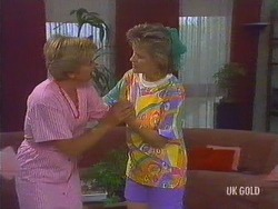 Eileen Clarke, Daphne Clarke in Neighbours Episode 0435