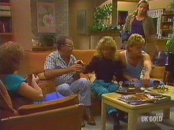 Madge Bishop, Harold Bishop, Charlene Mitchell, Henry Ramsay, Shane Ramsay in Neighbours Episode 0435