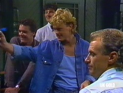 Paul Robinson, Henry Ramsay, Jim Robinson in Neighbours Episode 0436