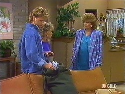 Henry Ramsay, Charlene Mitchell, Madge Bishop in Neighbours Episode 0436