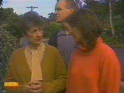 Nell Mangel, Jim Robinson, Beverly Robinson in Neighbours Episode 0815