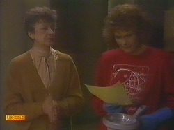 Nell Mangel, Madge Bishop in Neighbours Episode 0815
