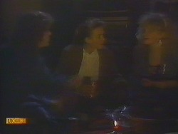 Henry Ramsay, Bronwyn Davies, Sharon Davies in Neighbours Episode 0815