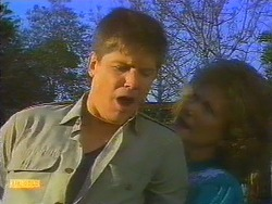 Joe Mangel, Madge Bishop in Neighbours Episode 0817