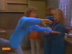 Henry Ramsay, Madge Bishop, Sharon Davies in Neighbours Episode 0817