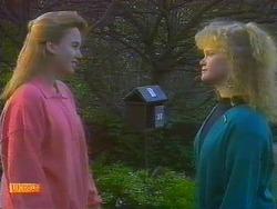Bronwyn Davies, Sharon Davies in Neighbours Episode 0817