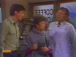 Joe Mangel, Nell Mangel, Harold Bishop in Neighbours Episode 0817