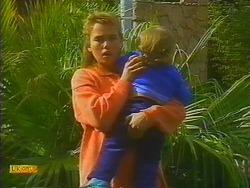 Bronwyn Davies, Jamie Clarke in Neighbours Episode 0817