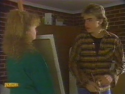Sharon Davies, Nick Page in Neighbours Episode 0818