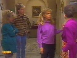 Sharon Davies, Nick Page, Jane Harris, Nell Mangel in Neighbours Episode 0818