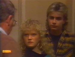 Harold Bishop, Sharon Davies, Nick Page in Neighbours Episode 0818
