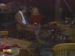 Harold Bishop, Sharon Davies in Neighbours Episode 0819