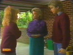Sharon Davies, Helen Daniels, Nick Page in Neighbours Episode 0819