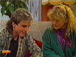 Nick Page, Sharon Davies in Neighbours Episode 0821